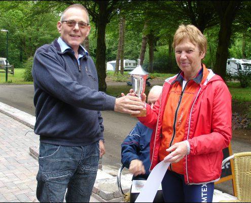 Jenny Fijlstra winnaar Noordelijke bekerjacht 2018